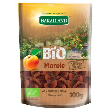 BAKALLAND BIO Morele suszone BIO 100g