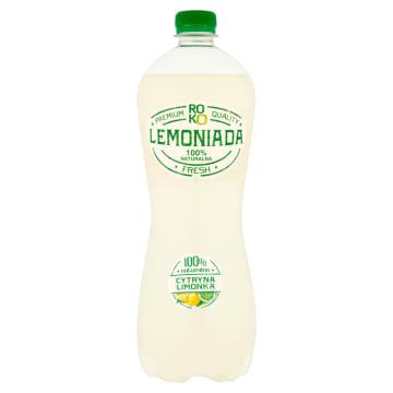 ROKO LEMONIADA Napój gazowany cytrynowo-limonkowy 1l