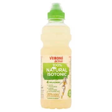 VERONI ACTIVE 100% Natural Isotonic Napój izotoniczny niegazowany jabłkowo-cytrynowy 700ml