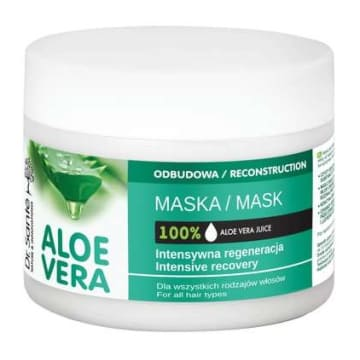 DR SANTE Maska aloesowa do włosów z keratyną i ceramidami roślinnymi 300ml