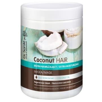 DR SANTE Maska z olejem kokosowym dla suchych i łamliwych włosów 1l