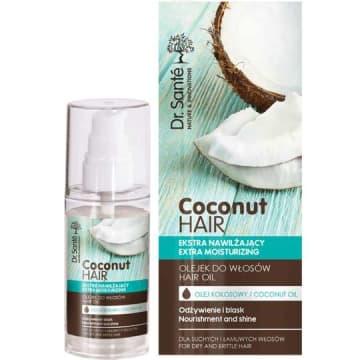 DR SANTE Olejek kokosowy dla suchych i łamliwych włosów 50ml