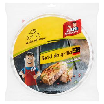 JAN NIEZBĘDNY Tacki do grilla  2 szt. 1szt