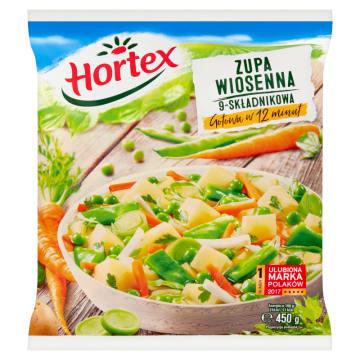 Mrożona zupa wiosenna - Hortex. Smaczny posiłek w mgnieniu oka.