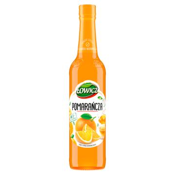ŁOWICZ Syrop o smaku pomarańczowym 400ml
