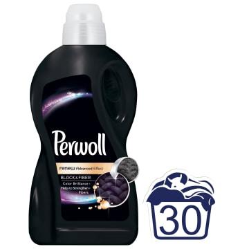Płyn do prania Black Magic - Perwoll odnawia kolor, zapobiega blaknięciu i szarzeniu tkanin.