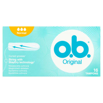 O.B.® Original Tampony Normal 16 szt. 1szt