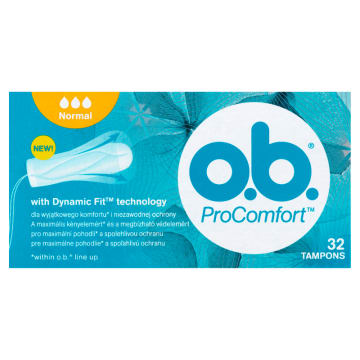 O.B.® ProComfort Tampony Normal 32 szt. 1 szt