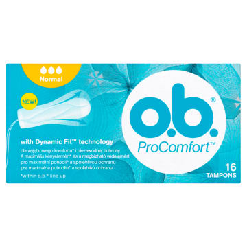 O.B.® ProComfort Tampony Normal 16 szt. 1szt