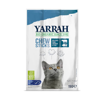 YARRAH Przysmak dla kota 3 szt BIO 15g