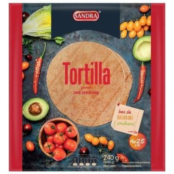 SANDRA Tortilla pomidorowa  25cm (4 szt) 240g
