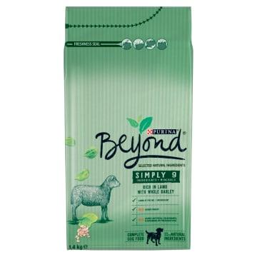 PURINA Beyond Karma dla psów bogata w jagnięcinę i pełnoziarnisty jęczmień 1.4kg