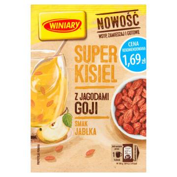 WINIARY Super Kisiel Jabłkowy z jagodami goji 27g