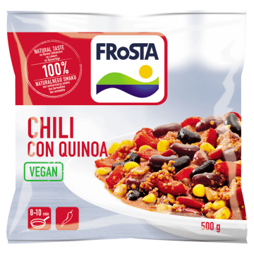 FROSTA Chili con quinoa wegańskie danie w meksykańskim stylu 500g