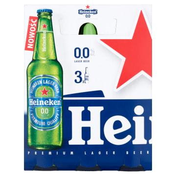 HEINEKEN Piwo jasne bezalkoholowe 3 x 500 ml 1.5l