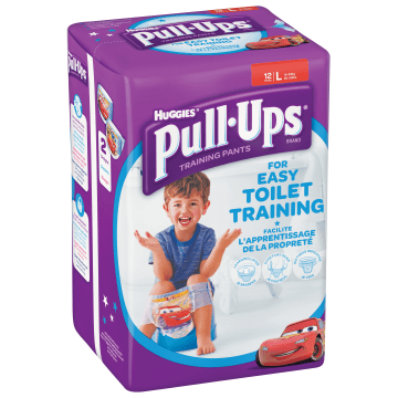 HUGGIES Pull-Ups L Majteczki treningowe dla chłopców 12 szt. 1szt