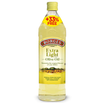BORGES Oliwa Delicate 750 ml + 33% gratis 1l