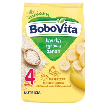 Kaszka ryżowa - Bobovita. Źródło składników odżywczych o doskonałym smaku.