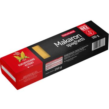 NATURAVENA Makaron bezglutenowy kukurydziano-ryżowy spaghetti 250g