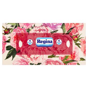 Chiusteczki higieniczne - Regina. Gładkie i delikatne chusteczki w wygodnym opakowaniu.