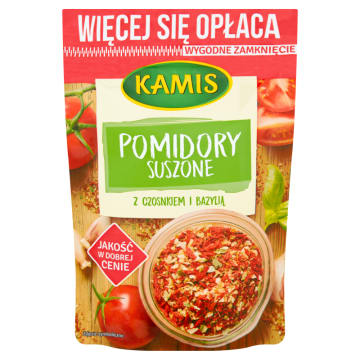 KAMIS Family Przyprawa suszone pomidory 50g
