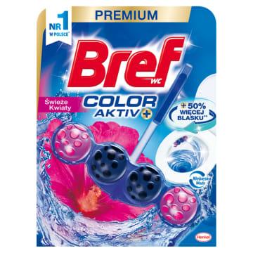 BREF Blue Aktiv Zawieszka do WC - Świeże kwiaty 50g