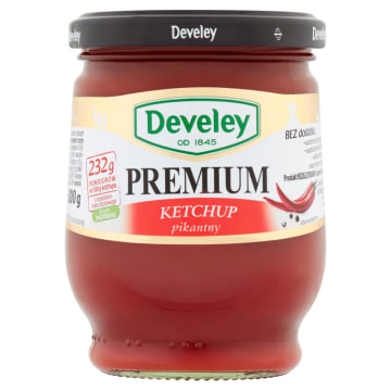 DEVELEY Premium Ketchup  pikantny 300g