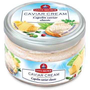 SANTA BREMOR Pasta kawiorowa klasyczna 180g