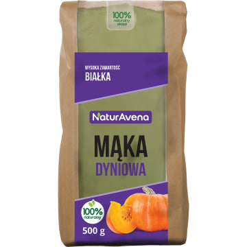 NATURAVENA Mąka dyniowa BIO 500g