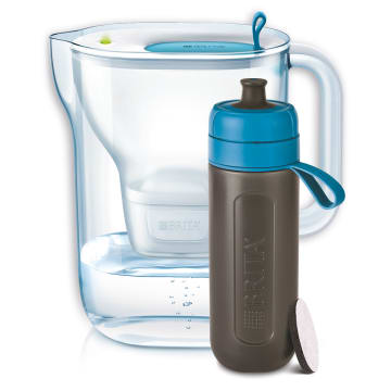 BRITA Filtr dzbankowy STYLE XL i butelka Fill&Go Active blue 1szt