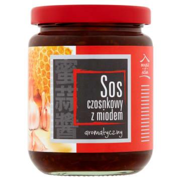 Sos czosnkowy z miodem – House of Asia to zaskakujące i niezwykle ciekawe połączenie smakowe.