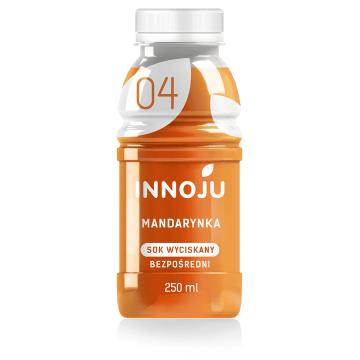 INNOJU Sok naturalnie mętny 100% z mandarynek 250ml
