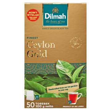 Dilmah - Herbata Ceylon Gold 50 torebek, 100 g. Jeden z popularniejszych trunków.