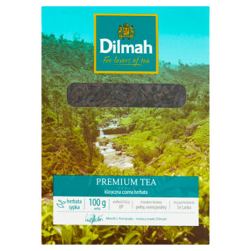 Herbata - Dilmah. Aromatyczna herbata Ceylon z liści typu Orange Pekoe.