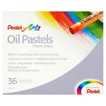PENTEL Kredki pastele olejne 36 kolorów 1szt