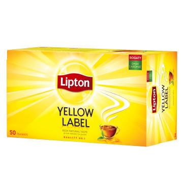LIPTON Yellow Label Herbata czarna 50 torebek 100g