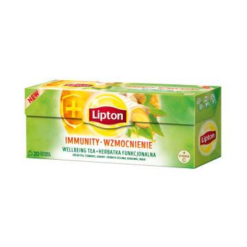 LIPTON Herbatka funkcjonalna Wzmocnienie 20 torebek 32g