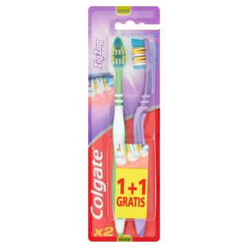 Szczoteczka do zębów Zig Zag Plus – Colgate jest zaprojektowana, aby ułatwiać codzienną higienę.