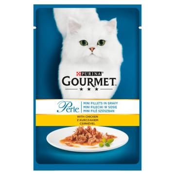 Gourmet - Pokarm dla kotów Kurczak w saszetce 85g to pyszny smak i wiele składników odżywczych.