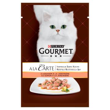 Karma dla kotów w saszetce - Gourmet. Poorcja zdrowia w saszetce.