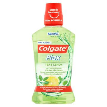 Colgate - Płyn do płukania jamy ustnej Herbal Fresh posiada przyjemny smak ziołowy.
