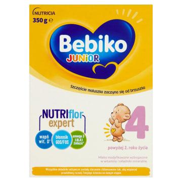 Bebiko Junior 4 - Mleko modyfikowane po 24 miesiącu. Rewelacyjnej jakości mleko dla dzieci.