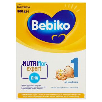 Mleko modyfikowane początkowe 1 – Bebiko to mieszanka przeznaczona dla niemowląt od urodzenia.