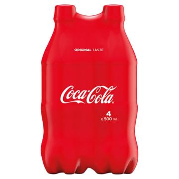COCA-COLA Napój gazowany 4x500ml 2l