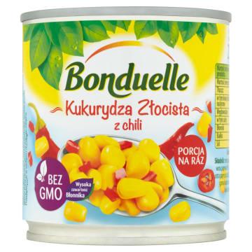 BONDUELLE Kukurydza Złocista z chili 165g