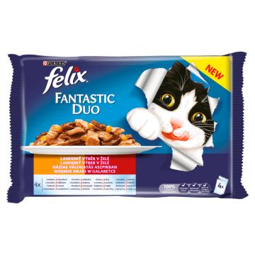 FELIX® Fantastic Karma dla kotów - Wiejskie smaki w galaretce 4x100g 400g