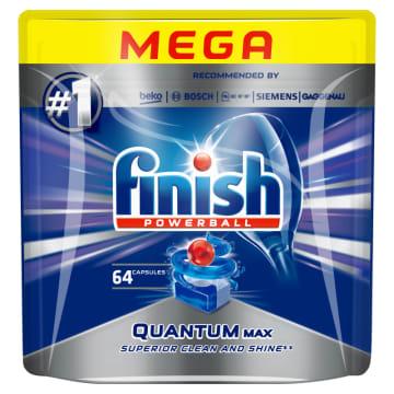 FINISH POWERBALL Quantum MAX Kapsułki do zmywarki 64 szt. 1szt