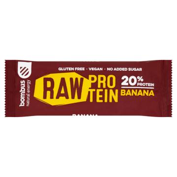 BOMBUS RAW ENERGY Baton banan (bezglutenowy) 50g