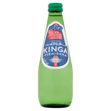 Naturalna woda mineralna gazowana - Kinga Pienińska