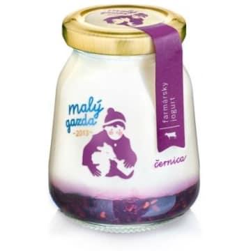 MAŁY GAZDA Jogurt o smaku jeżyn 210g